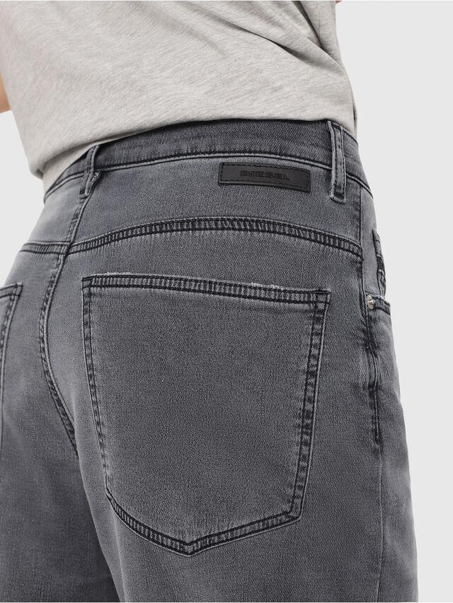Diesel - Widee JoggJeans 069EH, Noir/Gris foncé - Jeans - Image 3