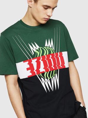 T-JUST-A11, Vert/Noir - T-Shirts