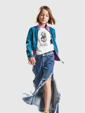 D-IZZIER-F-J, Bleu moyen - Jeans
