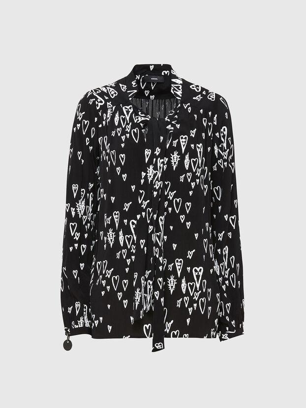 C-DUANE, Noir - Chemises