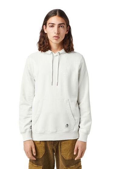 Sweat-shirt à capuche teint en plongée avec empiècements