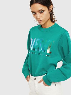F-ANG, Vert Foncé - Pull Cotton