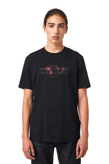 T-shirt avec logo alphabet