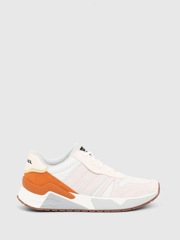 S-BRENTHA FLOW, Blanc/Orange - Baskets