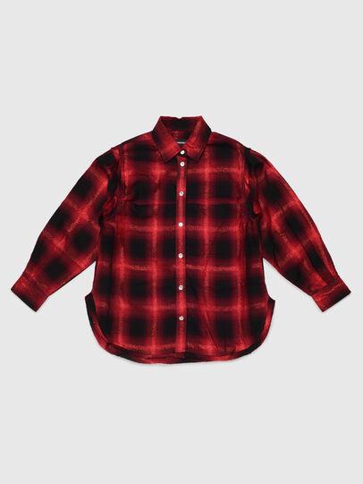 Diesel - CSUNNYA, Rouge/Noir - Chemises - Image 1