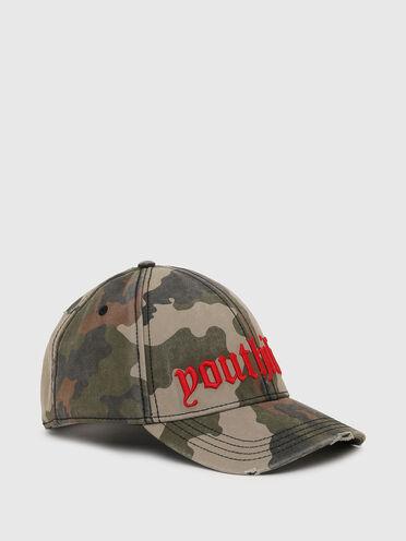 Casquette de baseball avec imprimé camouflage