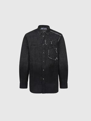 D-NESKY, Noir - Chemises en Denim