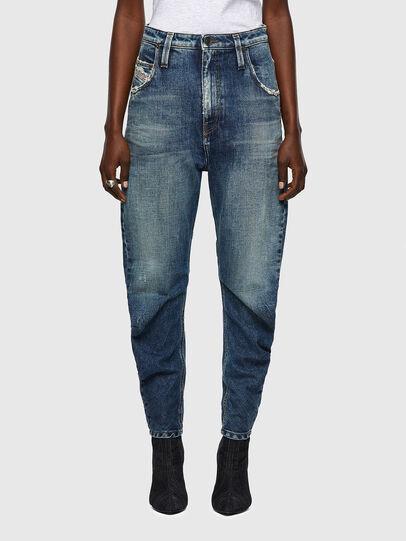 Diesel - D-Plata 09A54, Bleu moyen - Jeans - Image 1
