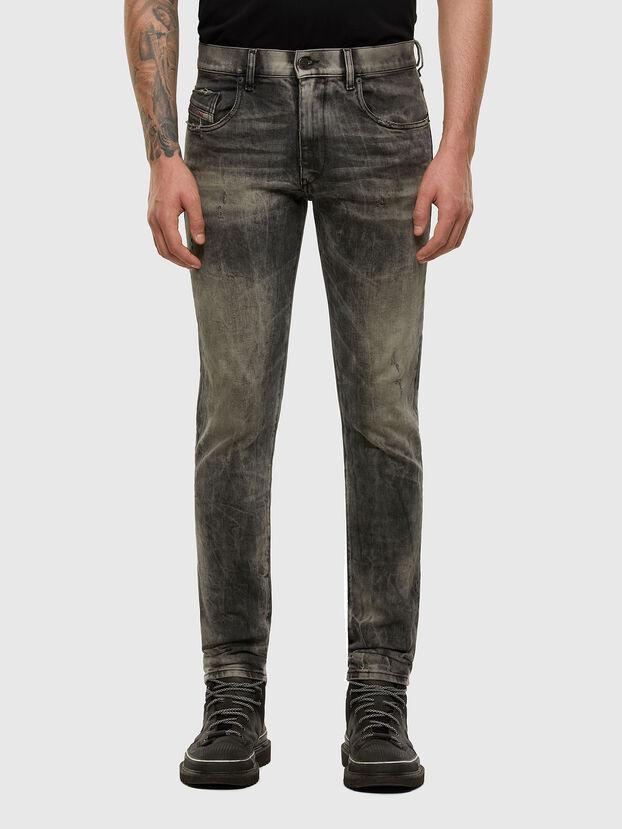 D-Strukt 009EV, Noir/Gris foncé - Jeans