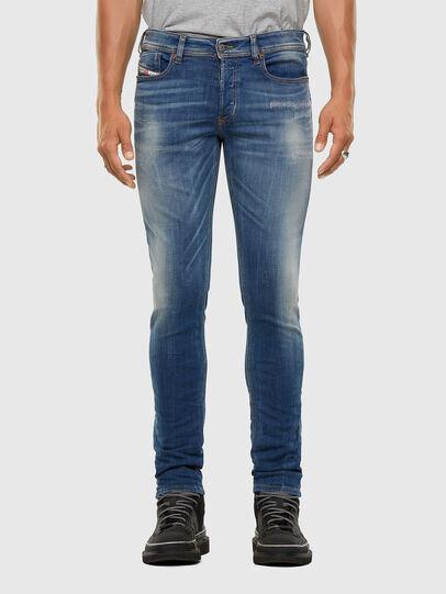 Diesel - Sleenker 009FC, Bleu moyen - Jeans - Image 1