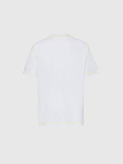 Diesel - T-JUSEAM, Blanc - T-Shirts - Image 2