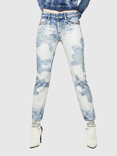 Diesel - D-Rifty 0890P, Bleu Clair - Jeans - Image 1