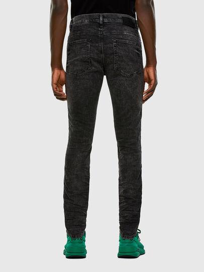 Diesel - D-Reeft JoggJeans 009FZ, Noir/Gris foncé - Jeans - Image 2