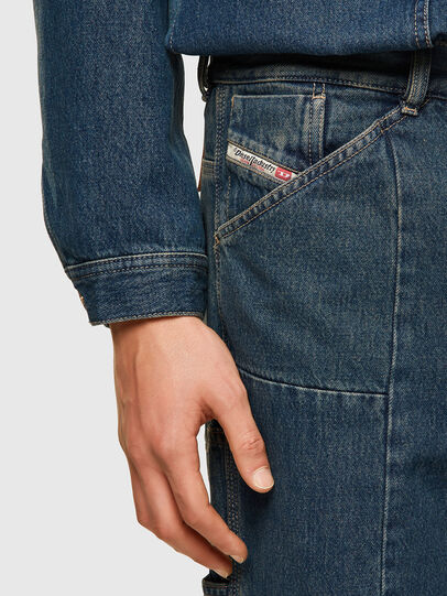 Diesel - D-FRAN-SP, Bleu moyen - Pantalons - Image 4
