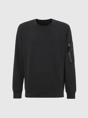 S-IRIDIO, Noir - Pull Cotton
