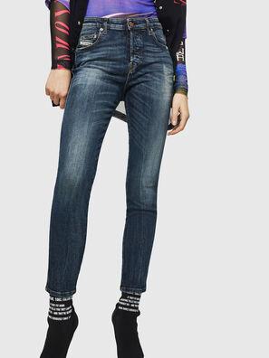 Babhila 069GC, Bleu Foncé - Jeans