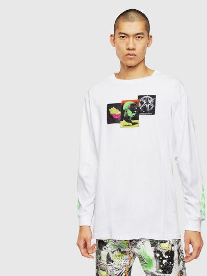 Diesel - T-GLYNIS-J1, Blanc - T-Shirts - Image 1