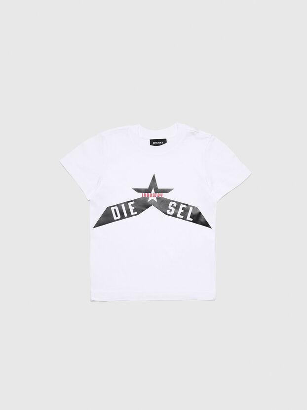 TDIEGOA7B-R, Blanc - T-shirts et Hauts