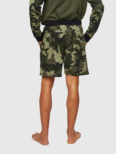 Diesel - UMLB-PAN, Vert Camouflage - Pantalons - Image 2