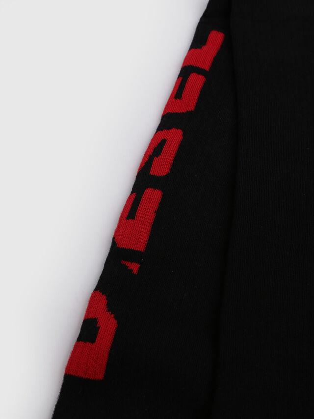 Diesel - SKM-LONG, Noir/Rouge - Chaussettes - Image 2