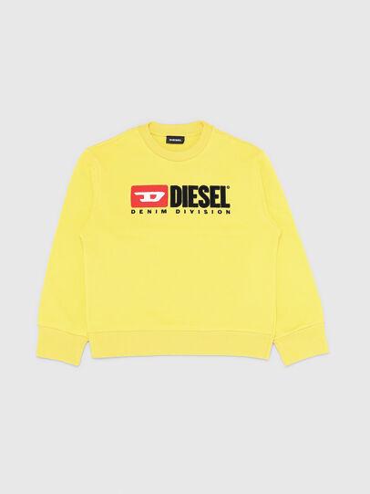 Diesel - SCREWDIVISION OVER, Jaune - Pull Cotton - Image 1