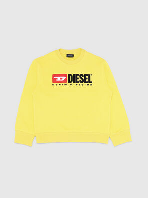SCREWDIVISION OVER, Jaune - Pull Cotton