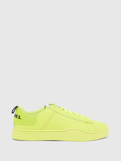 Diesel - S-CLEVER LOW LACE, Jaune - Baskets - Image 1