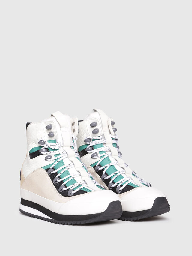 Diesel - S-TRIBUTE MC, Polychrome/Blanc - Baskets - Image 2