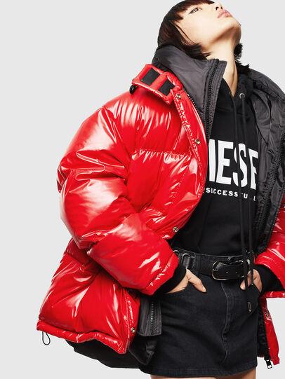 Diesel - CL-W-ALLA-LITM, Rouge - Vestes d'hiver - Image 5