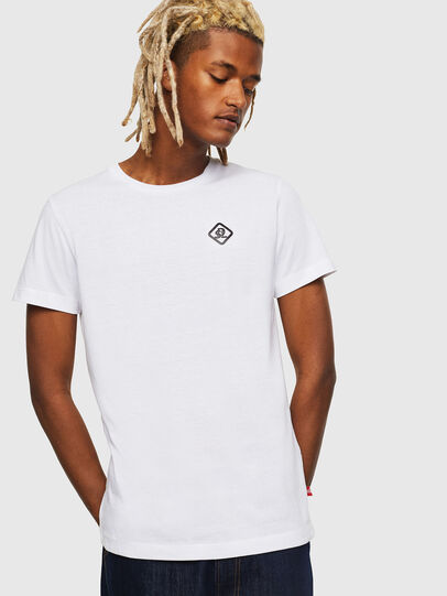 Diesel - CC-T-DIEGO-COLA, Blanc - T-Shirts - Image 1