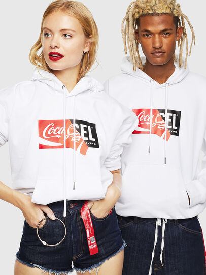 Diesel - CC-S-ALBY-COLA, Blanc - Pull Cotton - Image 6