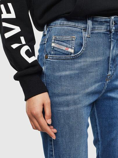 Diesel - Slandy High 009AG, Bleu moyen - Jeans - Image 3