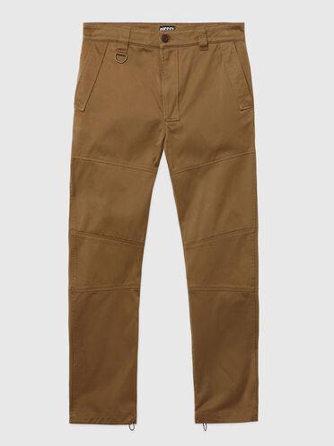 Pantalon Green Label avec motif à empiècements