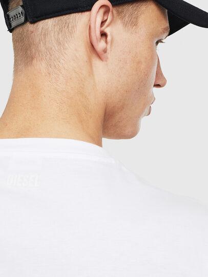 Diesel - T-JUST-T23, Blanc - T-Shirts - Image 3