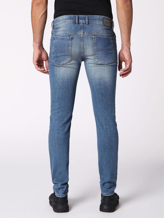 Diesel - Sleenker 084RV, Jean Bleu - Jeans - Image 2