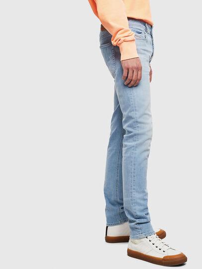 Diesel - Sleenker 009BJ, Bleu Clair - Jeans - Image 5