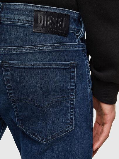 Diesel - Sleenker 009QI, Bleu Foncé - Jeans - Image 4