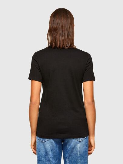 Diesel - T-SILY-K6, Noir/Gris - T-Shirts - Image 2