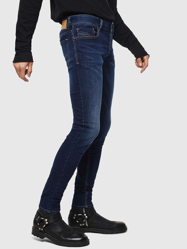 Diesel Sleenker 084RI, Bleu Foncé - Jeans - Image 4