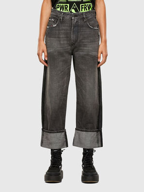 D-Reggy 009IL, Noir/Gris foncé - Jeans