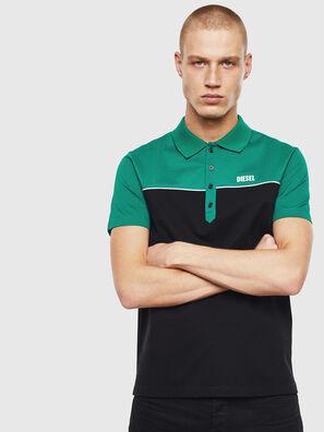 T-RALFY-BIC, Vert/Noir - Polos