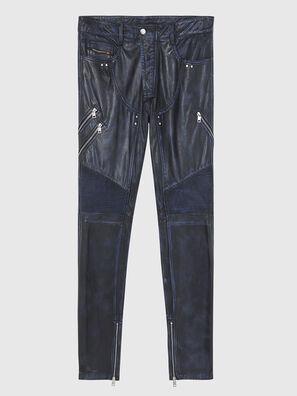 P-TRAN-A, Bleu Foncé - Pantalons