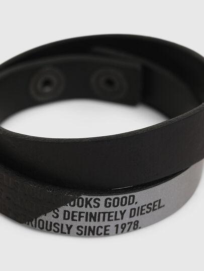 Diesel - A-CCA, Noir - Bijoux et Gadgets - Image 2