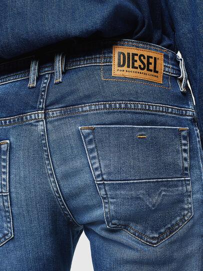 Diesel - Thommer 0097W, Bleu Foncé - Jeans - Image 4