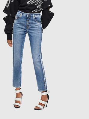 Babhila 009AA, Bleu moyen - Jeans