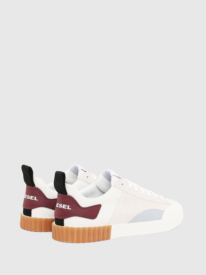 Diesel - S-BULLY LC, Blanc/Rouge - Baskets - Image 2