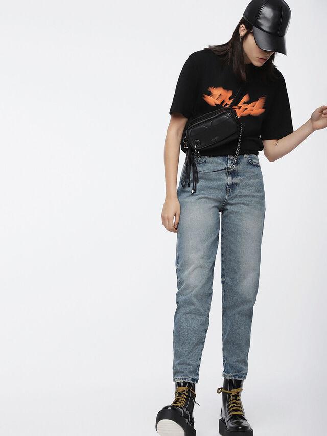 Diesel - T-JUST-XK-FL, Noir - T-Shirts - Image 3