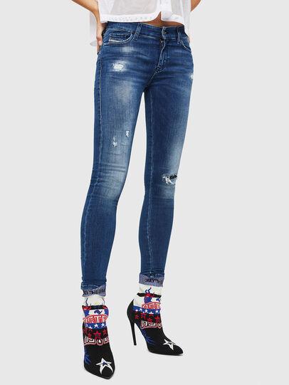 Diesel - Slandy 089AI, Bleu moyen - Jeans - Image 1