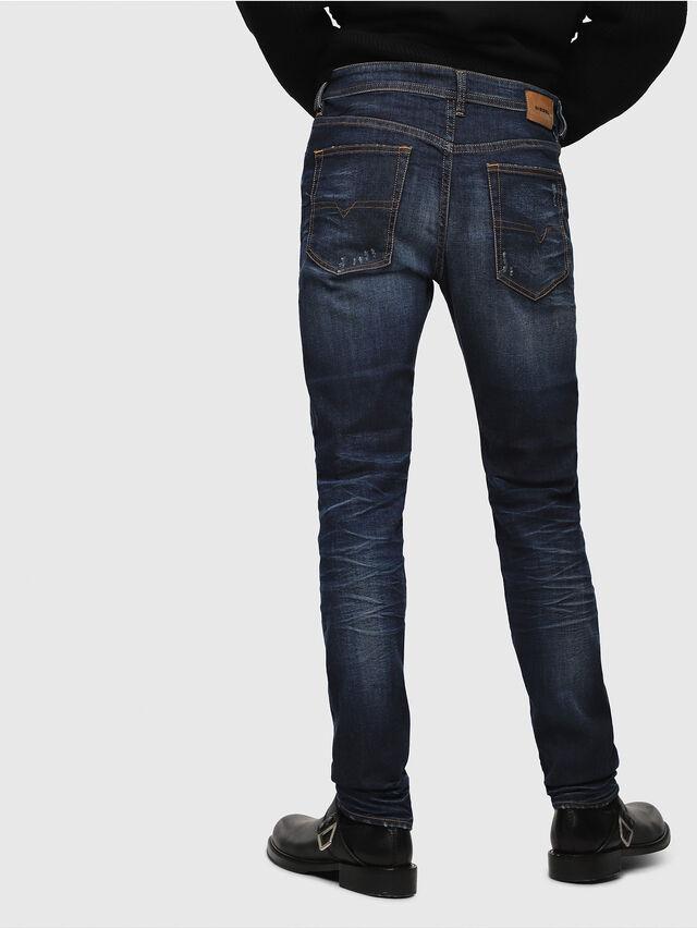 Diesel - Buster 069AH, Bleu Foncé - Jeans - Image 2
