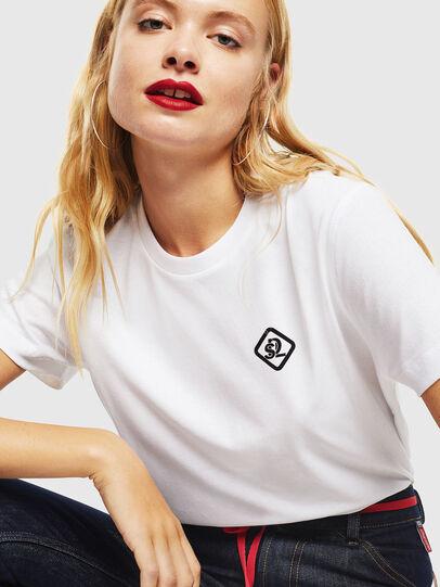 Diesel - CC-T-DIEGO-COLA, Blanc - T-Shirts - Image 5